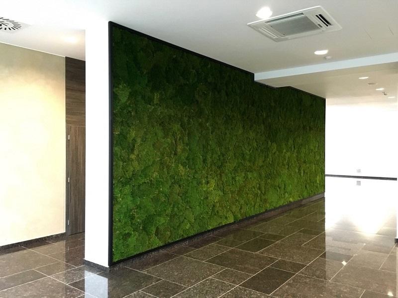 Machové steny v X-BIONIC® HOTEL