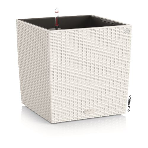 Kvetináč Lechuza Cube Cottage all-in-one set