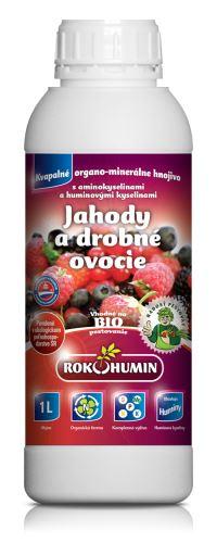 Tekuté organominerálne hnojivo Rokohumín 1L na jahody