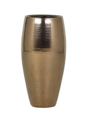 Zlatá keramická váza AMORA
