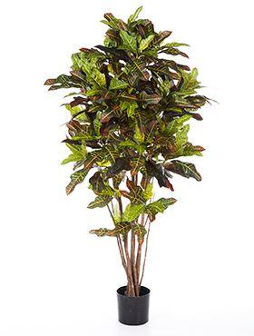 Umelá rastlina croton exellent rozkonárený  V120cm