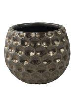 Kvetináč keramický INDOOR POTTERY Pot BEAU, 16/13 cm, bronzová