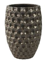 Kvetináč keramický INDOOR POTTERY Pot BEAU, 18/27 cm, bronzová
