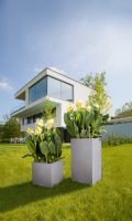 Kvetináč Lechuza Canto Color Tower so samozavlažovacím setom