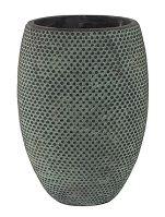 Kvetináč keramický INDOOR POTTERY Pot FAY, 19/27 cm, modrá