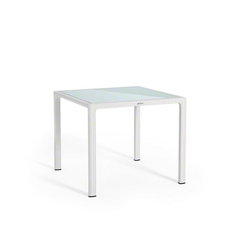 Lechuza záhradný stôl malý, biely 90x90cm HydroFlora Bratislava