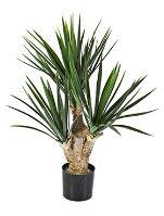 Umelá rastlina yucca baby (3-výhonová) V60 cm