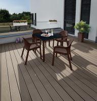 Lechuza záhradný stôl malý (90 x 90 x 75 cm) s HPL platňou