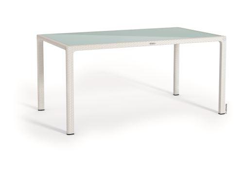 Lechuza záhradný stôl veľký (160 x 90 x 75 cm) biela HydroFlora Bratislava