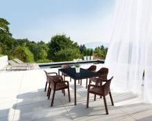 Lechuza záhradný stôl veľký (160 x 90 x 75 cm) s HPL platňou
